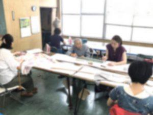 平針和裁教室テーブル席